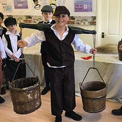 Day living as Victorians for Year 5