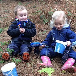 Forest School Learning for Early Years