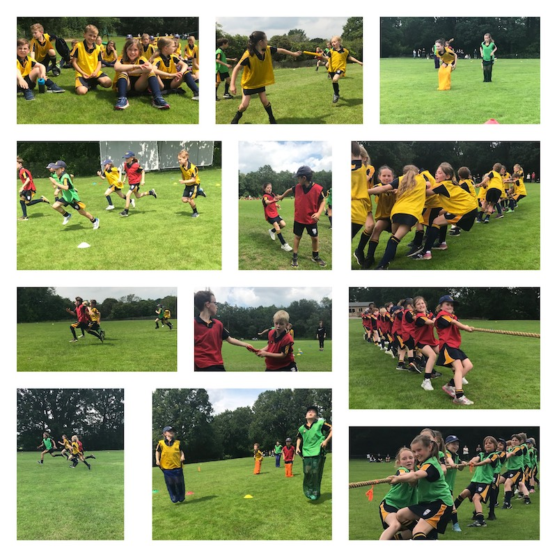 The Mead School sports day July 2021.